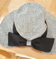 帽子のサイズ治した