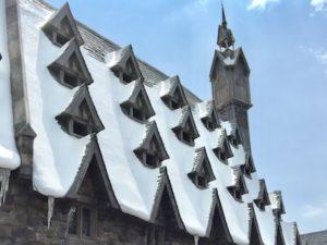 ハリーポッター屋根