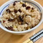 箸とあずきのチカラ赤飯